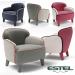 3d model estel armchair - preview