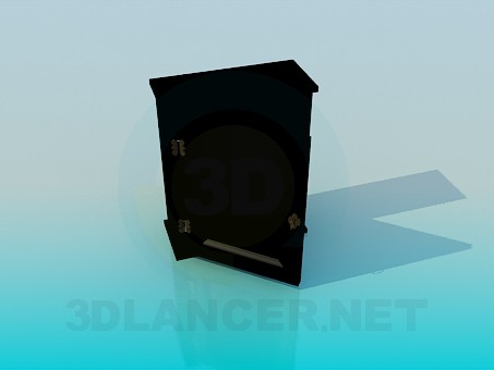 modelo 3D Armario bajo - escuchar