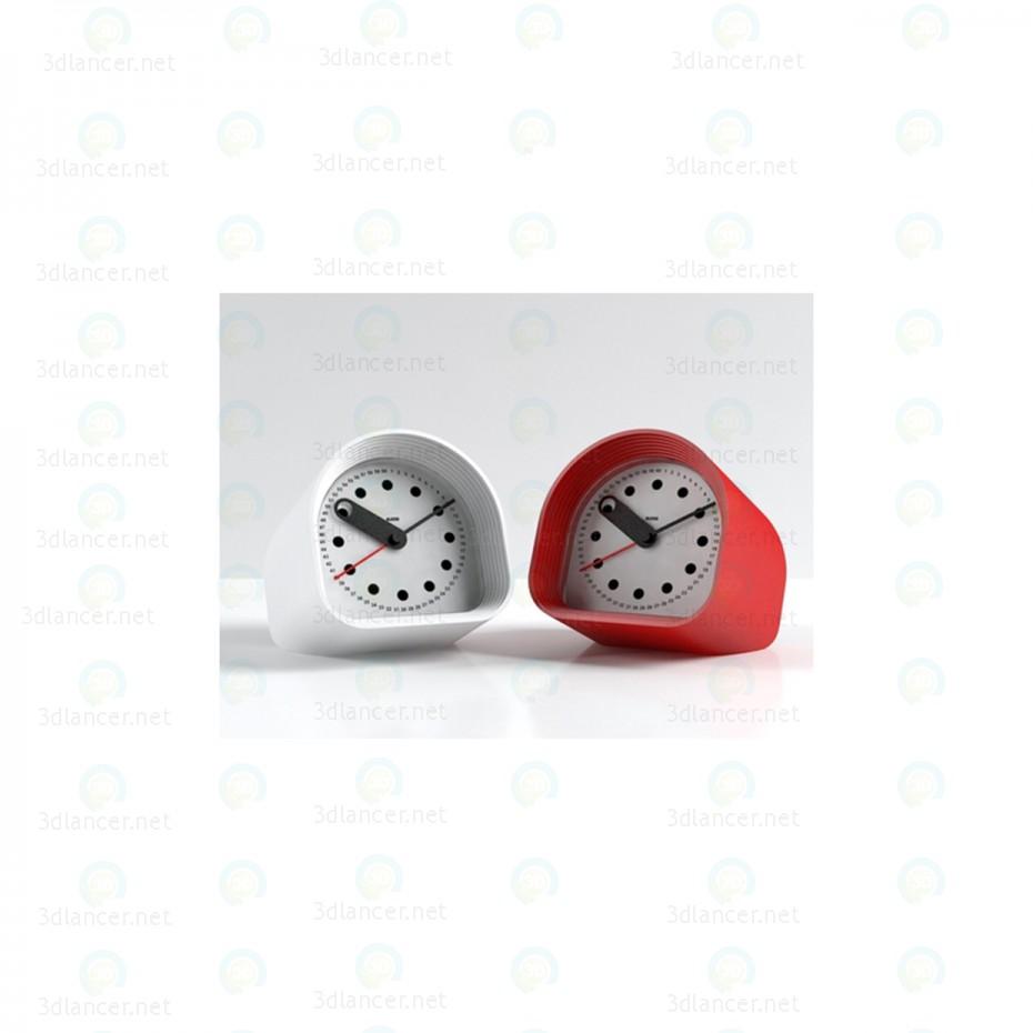 modelo 3D Reloj despertador - escuchar