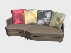 Sofa modular Lebourg (IV-version)
