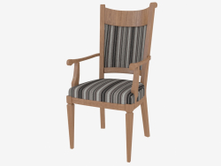 Chair with armrests CO124