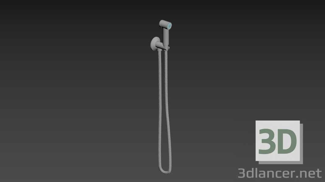 3d model Shower for bath tub - preview