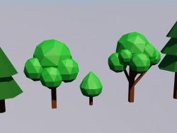 Árvores Lowpoly