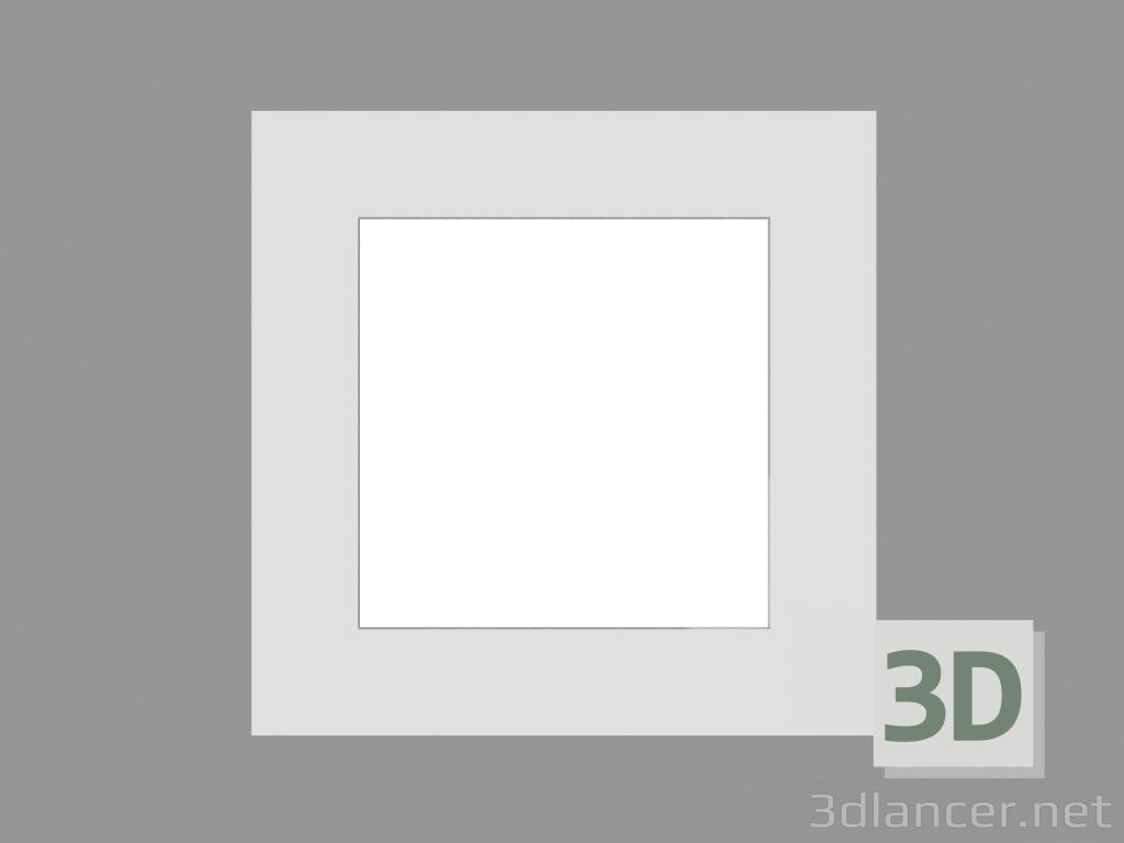 3 डी मॉडल साइडवॉक लैंप ज़िप वर्ग (S8880 18W TCT) - पूर्वावलोकन