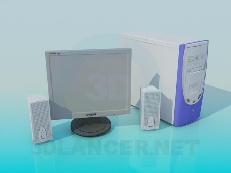 3d modeling System unit model free download
