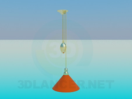 3d model Luminaire height regulator - preview
