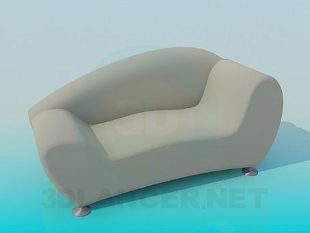 descarga gratuita de 3D modelado modelo cama de caballete
