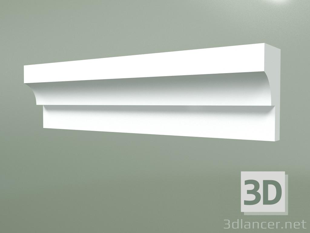 3d model Gypsum molding MT058 - preview