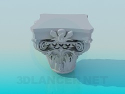 Plaster decoration