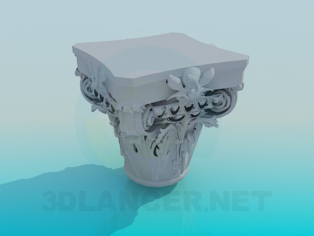 3d model plaster decoration download for free for 3d decoration models