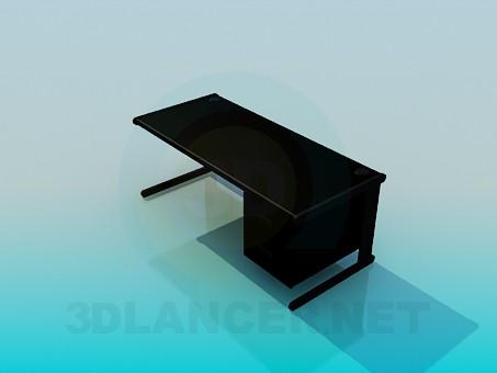 3d модель Письменный стол – превью
