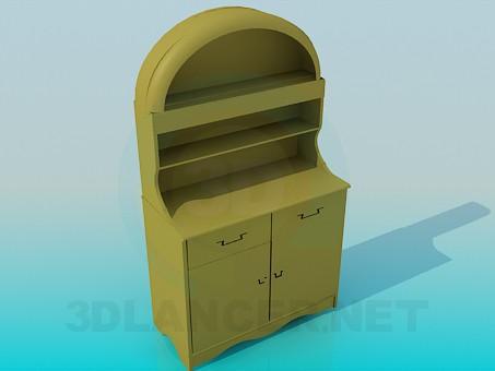 modelo 3D Aparador pequeño - escuchar