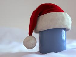 Mütze Weihnachten