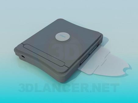 3d model Escáner de - vista previa