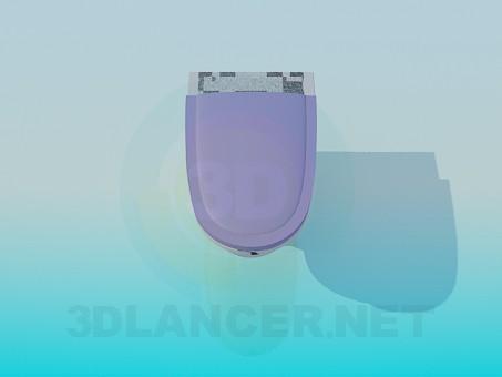 3d modeling Toilet model free download