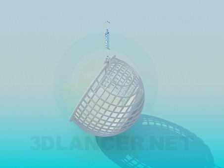 3d модель Кресло-качель – превью