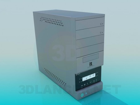 3d modeling System unit model free download