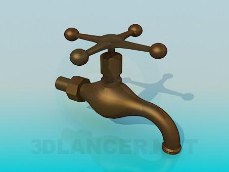 3d modeling Copper crane model free download