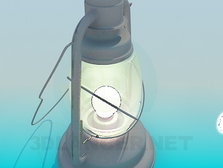 3d model Old Lantern - preview