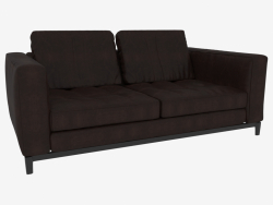 Sofa double leather Andersen (178 x 82 x 103)