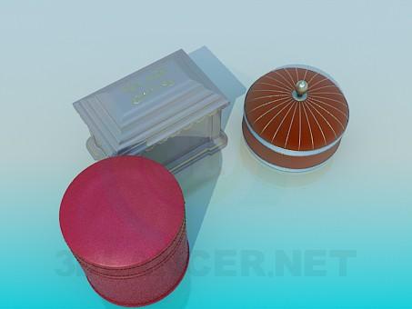 descarga gratuita de 3D modelado modelo Joyero