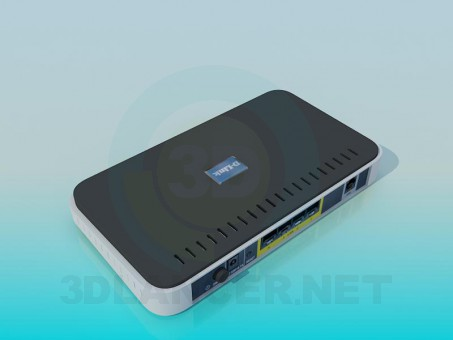 3d model Router - vista previa