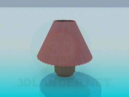 3d модель Настольный торшер – превью