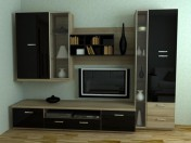 Pared de muebles Xetra