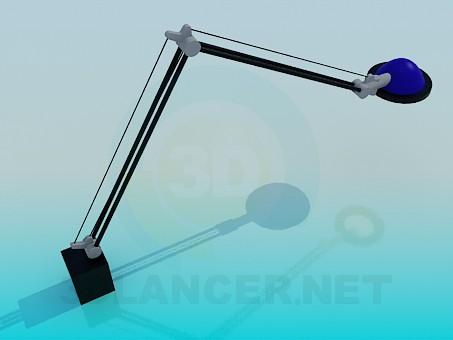3d модель Старый фонарь – превью