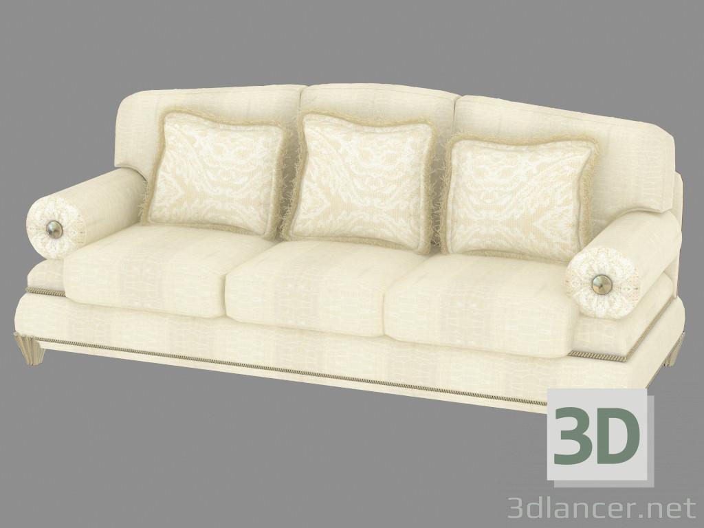 3d modell klassisches dreibettzimmer t485 vom hersteller turri stil klassizismus id 19526. Black Bedroom Furniture Sets. Home Design Ideas