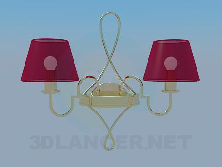 3d modeling Sconce model free download