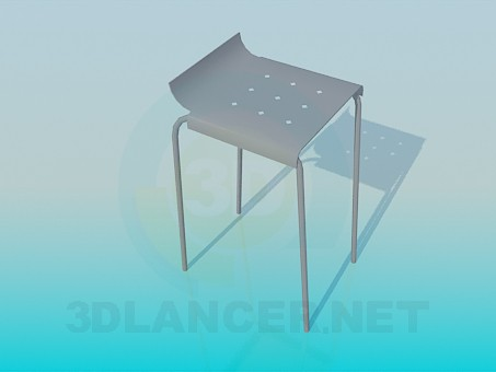 3d model Bench with a fillet - preview