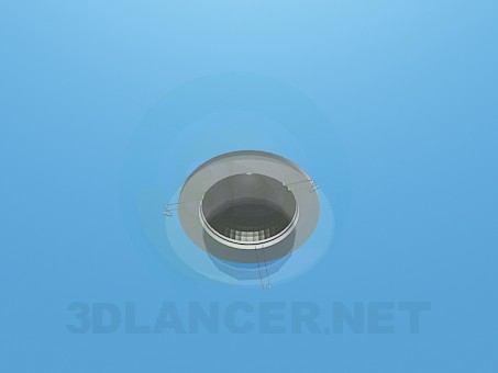 3d modeling Halogen lamp model free download