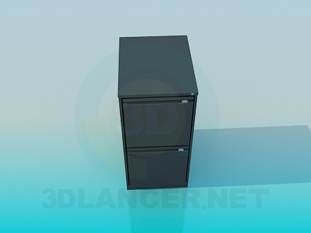 3d model Mueble para oficina - vista previa