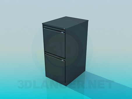 3d model Cabinet for office - preview
