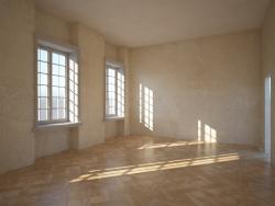Сцена интерьера комнаты
