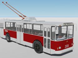 Trolleybus ZIU-682B