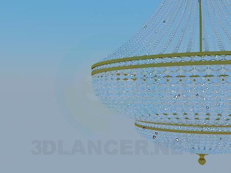 modelo 3D Chandelie - escuchar
