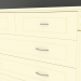 3d model Large chest of drawers - preview