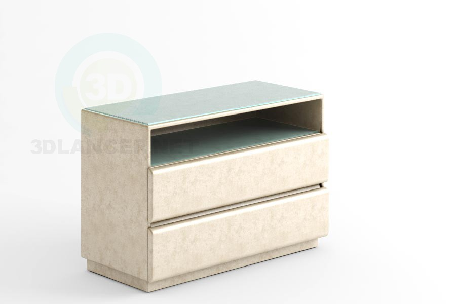 3d modeling Sevilla-TV mini chest of drawers model free download