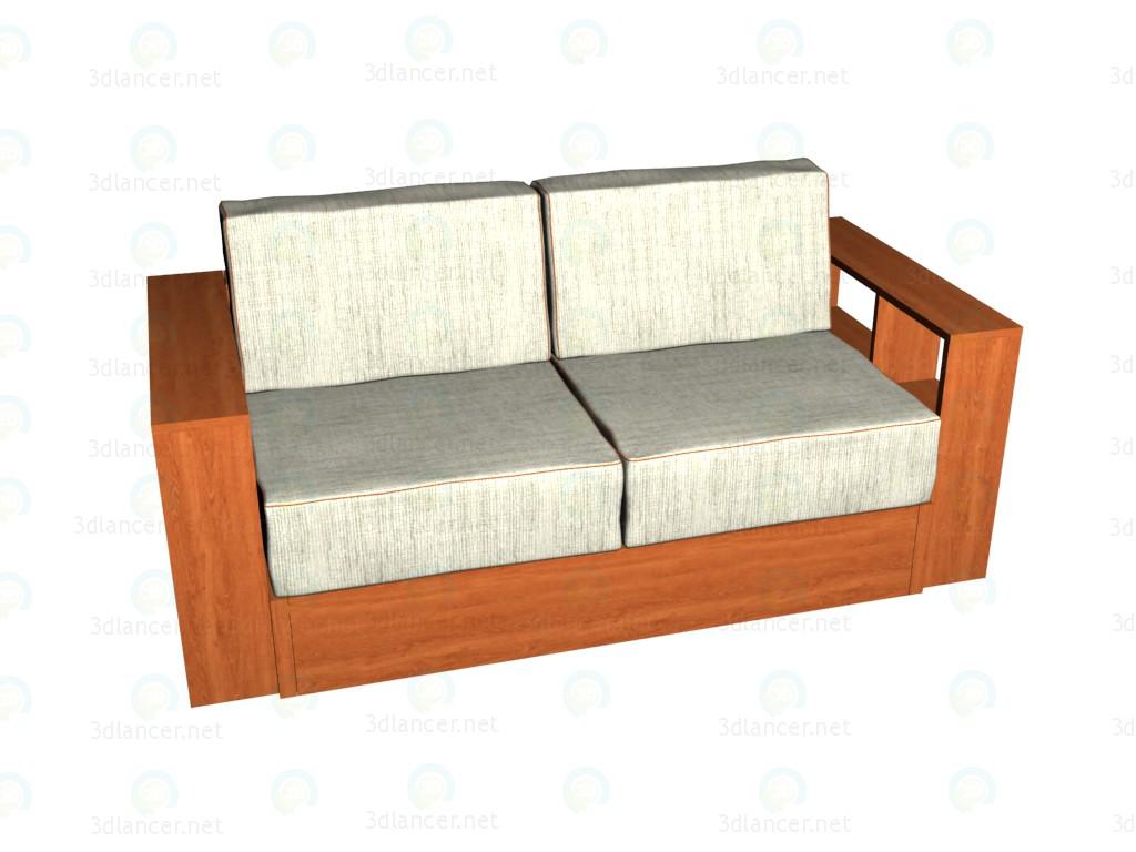 3d модель Диван-кровать post modern VOX – превью