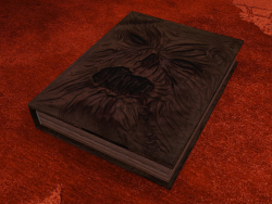 El libro de los muertos, Necronomicon, de la serie Ash Against the Evil Dead.