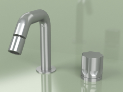 2-hole faucet with adjustable spout 133 mm (17 36 T, AS)