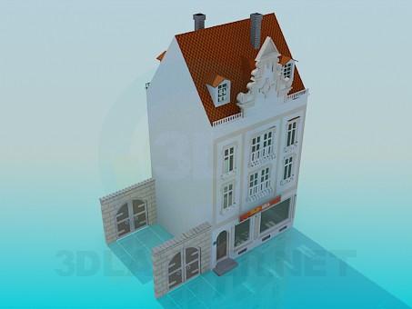 3d model Casa - vista previa