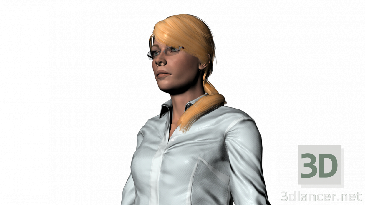3d Natasha model buy - render