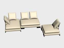Sofa modular Site (I-version)