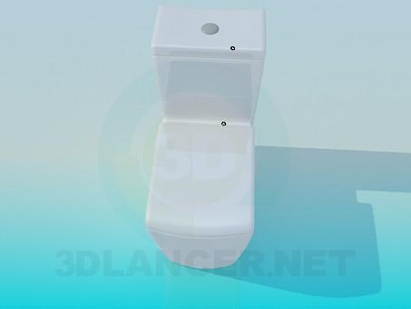 3d model Toilet bowl - preview