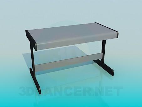 3d model The desk - preview