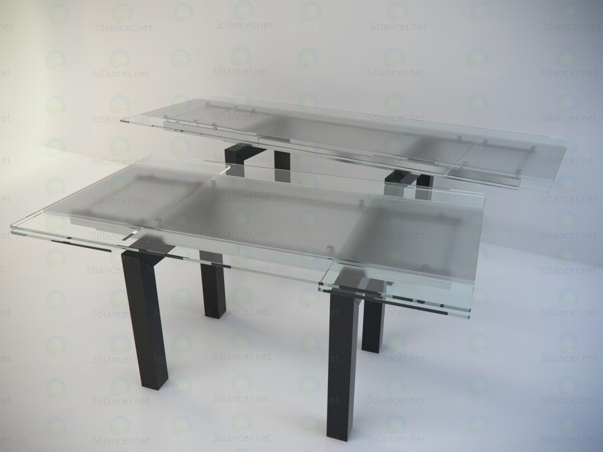 3d model Table sliding Cattelan - Smart - preview
