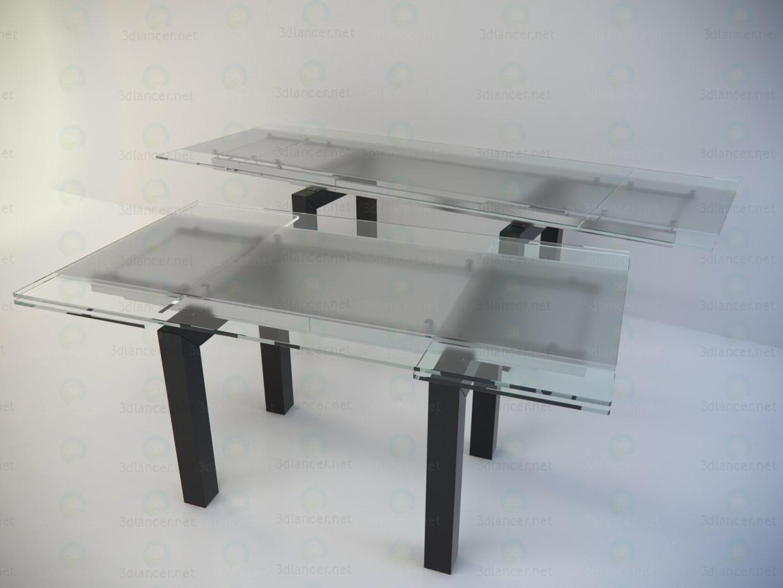 3d модель Стол раздвижной Cattelan - Smart – превью